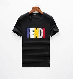 Canada 2018Fashion Marque Designer T Shirt Hip Hop Blanc Vêtements Pour Hommes Casual T Chemises Pour Hommes Avec Des Lettres Imprimé TShirt Taille M-3XL Offre