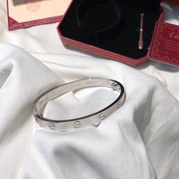 braccialetti delle donne dei monili del progettista di lusso il braccialetto di fascino di amore delle signore degli uomini braccialetto di lusso carrello di marca braccialetto Pulseira de luxo da trasporto di goccia della mela fornitori