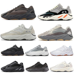 13 colori online-adidas yeezy 700 V2 kanye west wave runner uomo donna scarpe da corsa Vanta Analog Geode Inertia Sneaker sportive color malva 36-45