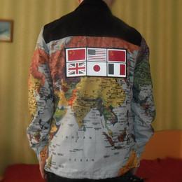 2019 Giacca Uomo Abbigliamento Uomo Donna mappa stampata Giaccone Mens Designer Mens Designer cappotti di inverno di formato M-XXL da