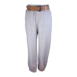 Pantalones holgados de jersey online-Pantalón Mujer Light Dark Full Length Pantalón cargo con fajas sueltas Casual Hight Waist Plus Size S-2XL Joggers Baggy Pants