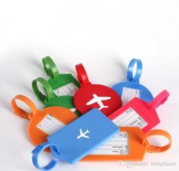 2019 sapatas da figura da forma Hot Silicone Bag Tag portátil forma de retângulo Rodada de viagens Handbag Bags Identificação Cartão de bagagem Tag Hot Doce Venda 2 7 kg dd