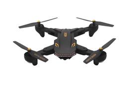 rc nano quadcopter mini drone Desconto Visuo XS809S RC Drone com 2.0MP Wide Angle Camera Quadrotor Wifi FPV dobrável One Key Retorno Altitude Segure G-sensor com 3 bateria extra