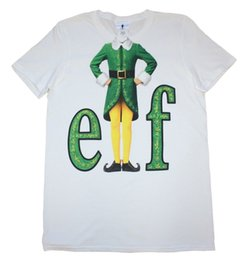 film elves Promotion Elf Movie - Buddy The Elf Suit - T-shirt Officiel Hommes Hommes Unisexe Mode Livraison Gratuite
