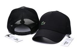 Nuevas marcas de moda al aire libre Snapback Caps Strapback Gorra de béisbol Deporte al aire libre Diseñador Hiphop Sombreros para hombres Mujeres cocodrilo Hat casquette desde fabricantes