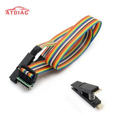 Sop pin online-Recentemente arriv test clip SOP16 SOP Pin IC Test morsetto SOP16 a DIP8 Flash Clip per 25 serie RT809F TL866CS TL866A