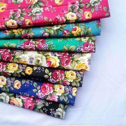 denimkissen Rabatt 150D Denim Stretch Stoff Kissenbezug, Gepäck, Vorhänge, Rose Stoff Kleidung Baumwollstoff reaktiven Stoff gedruckt
