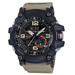 Reloj deportivo Brújula termómetro Relojes de pulsera Resistente al agua Caucho militar Estilo G Reloj deportivo Relojes LED digitales al por mayor Hombres Relojes deportivos desde fabricantes