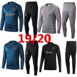 2019/20 yeni Ajax eğitim elbisesi 2019 2020 Ajax eşofman VAN DE BEEK DOLBERG Kluivert ajax eşofman futbol forması Boyut S-XL cheap tracksuit xl nereden eşofman xl tedarikçiler