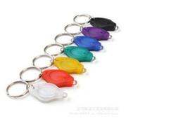 Mini schwarzes licht keychain online-Schwarz UV-Strahlen Mini-Taschenlampen UV-Licht Gelddetektor LED Keychain Lichter Multicolor kleines Geschenk DHL-frei 222