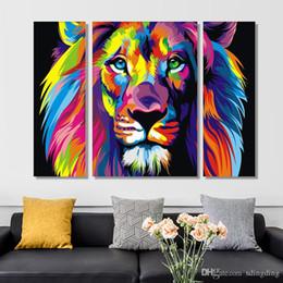 dipinti a olio d'isola Sconti Fai da te Tiger Diamante Pittura 5D Animale Home Decoration Diamante Ricamo Punto Croce Regalo per gli amici DH0340