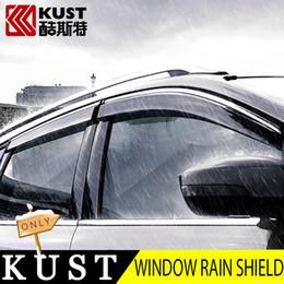 ford kuga escape Sconti KUST 4 PZ Tutta La Finestra Visiera Pioggia Per Kuga 2013-2016 Per Ford Escape Kuga 2017 Window Rain Shield Guard Cover Shelter