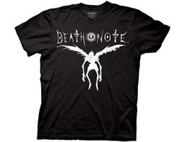 death note l Promo Codes - Death Note Ryuk Silhouette Adult Black T-shirt size discout hot new tshirt top free shipping t-shirt