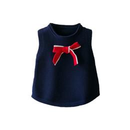 chaleco elegante casual Rebajas Elegantes para niños Suéteres Ropa para niñas adolescentes Trajes Sin mangas Invierno Escuela de primavera Estilo Chalecos Chaleco de algodón para niñas 2019 Nuevo A