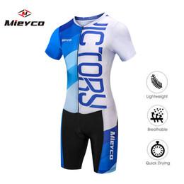 Mieyco Maglia da ciclismo triathlon Skinsuit MTB Bike Jersey Uomo Running Abbigliamento da nuoto Ropa Ciclismo Maillot suit suit da