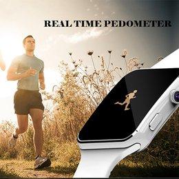 Esecuzione di misuratore da marcia Touch Screen Bluetooth Smartwatch con Smartwatch compatibile con fotocamera Scheda SIM elettronica disponibile Nuovo da