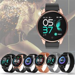 Обновление Bluetooth SmartWatch Водонепроницаемый IP67 Монитор сердечного ритма Мульти-спортивный фитнес-трекер, совместимый с телефонами Android IOS от