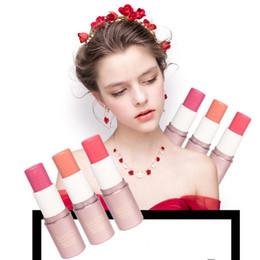2019 stick blusher Maquillage pour le visage Shimmer Blush Stick Surligneur Bronzer Contour Crème Joue Blusher Cosmétiques Éclaircir Maquillage stick blusher pas cher