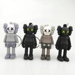 porte de la boîte Promotion Rue Sésame kaws Pendentif Poupées Jouets pendentifs ours sombre Keychain Porte-clés Livraison gratuite