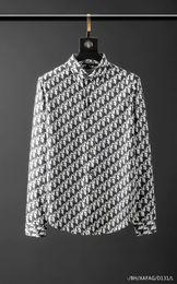 camisa de seda plateada para hombre Rebajas Camisa para hombre camisas de marca diseñador francés París marca de ropa 118 hombres de manga larga estilo de Hip Hop camisa de algodón de alta calidad 2019 nueva llegada
