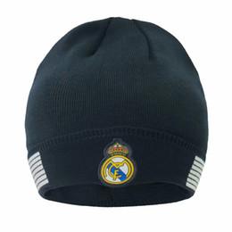Deutschland New Herbst Winter Fußball-Fans Caps Fußball-Hut-Geschenk für Real Madrid messi Manchester Cap Sporttraining Fußball Beanies Headwears Versorgung