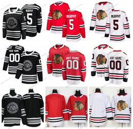 5696ffef1 2019 Winter Classic Chicago Blackhawks Connor Murphy Stitched Jerseys  Customize Home Red Shirts 5 Connor Murphy Hockey Jerseys S-XXXL