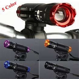 cree q5 halter Rabatt Neues wasserdichtes Fahrradlicht 7 Watt 2000 Lumen 3 Modus CREE Q5 LED Fahrradlicht Frontlampe + Taschenlampe Halter Unterstützung 18650 Batterie # 78981