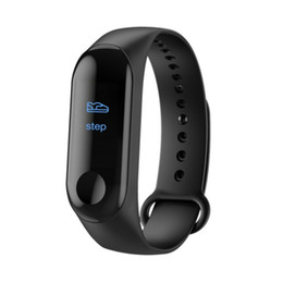 Preto Relógio Inteligente Rastreador de Fitness Pressão Arterial À Prova D 'Água Atividade Rastreador Pulseira Inteligente taxa de coração Chamada lembrar Saúde Pulseira de