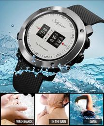 2020 orologi sportivi mens unici Mens Drum Roll Watch Stunning orologio unico Rolling Time Rubber Strap sport Polsi elettronici digitali da polso da uomo sconti orologi sportivi mens unici