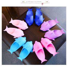 21455653dc2 2019 chaussures de garçon flip flop Bébé dauphin tongs 2019 été Mode  Enfants Slipper enfants filles