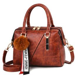 Кожаные сумочки из кожи онлайн-Leather Handbags Small Women Bag High Quality Casual Female Bags Trunk Tote Spanish  Shoulder Bag Ladies Large Bolsos YaDuo
