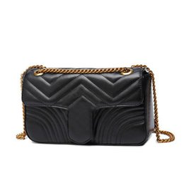 Мода Love heart V Wave Pattern Сумка Дизайнерская сумка на цепочке Сумочка Роскошная сумка через плечо Леди Сумки cheap wave handbag от Поставщики волновая сумочка