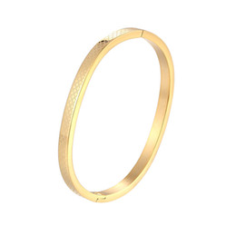 children quality bracelet Promo Codes - 5cm Diameter Kids Bangle Cross Grid Shape Bracelets & Bangle Stainless Steel High Quality Jewelry Gifts Child Wholesal