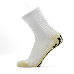 anti-schwitz-socken Rabatt Mittelrohr Sport Socken Männer Atmungsaktive Dicke Fußball Socke Anti Reibung Elastische Basketball Socken Top Qualität Absorbieren Schweiß Fußball Socken