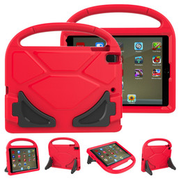 capas de ipad da prova da criança Desconto 3D Portátil Crianças Crianças À Prova de Choque de Espuma Seguro Caso EVA Lidar Com Capa À Prova de Choque Estande Caso Titular para iPad mini 1234 2/3/4 5 6 Pro