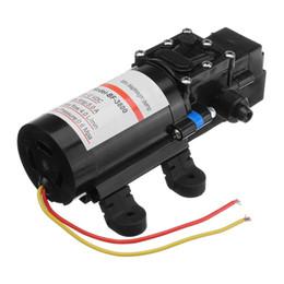 Membranpumpendruck online-Großhandel 12 V DC 60 Watt 0.6Mpa Nachfrage Frische Mini Membran Wasserpumpe Niederdruck Wasser Membran Selbstansaugende Pumpe