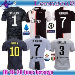 70607be9a 2019 2020 Juventus Soccer Jersey 19 20 Special Edition RONALDO DYBALA  Champions League Soccer Shirt MANDZUKIC football Jerseys