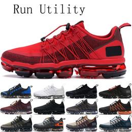 Scarpe di moda urbane online-2019 Fashion Run Utility mens scarpe da donna triple nere urbano rimbalzo BORGOGNA CRUSH uomini addestratori respirabili delle scarpe da tennis di sport 36-45 in esecuzione