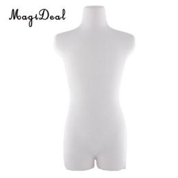 Manichini del corpo superiore online-Fashion Dolls Mannequin Dress Form Male Dress Modello BJD Upper Body Mannequin Stents Modello per Dollfie Dolls Abbigliamento Display