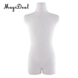 Vestire i manichini online-Fashion Dolls Mannequin Dress Form Male Dress Modello BJD Upper Body Mannequin Stents Modello per Dollfie Dolls Abbigliamento Display