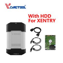 hdd xentry Rabatt VXDIAG-Diagnosewerkzeug für Schlüsselprogrammierer STERN-Diagnose SD schließen Scanner C4 C5 C6 OBD2 mit HDD für XENTRY DAS EPC DOIP an