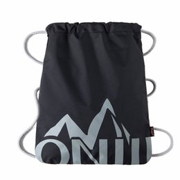 6e3d9c950c Simple Waterproof Drawstring Backpack Solid Tote Ultralight Bag Yoga  Fitness Gym Bag Sports Mountaineering Bags For Women Men  138354 drawstring  backpack ...