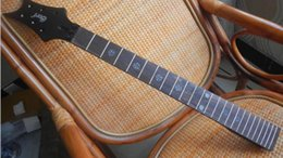 Высший сорт незаконченных частей электрогитары EVL-K4 Guitar Neck 24 лад, палисандр Гриф -17-11 cheap electric guitar neck rosewood fingerboard от Поставщики электрогитара шея палисандр гриф