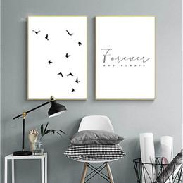 2019 minimalistische malereien Leinwandbilder Home Dekorative Nordische Landschaftsbilder Drucke Minimalistisches Wandkunstwerk Poster Hotel Modular Living Room günstig minimalistische malereien