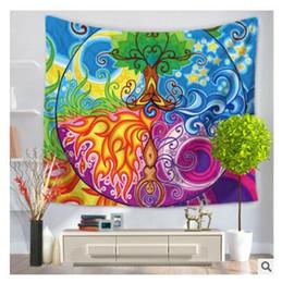 tapices de dormitorio Rebajas Patrón creativo de pared de tapiz Tapiz de pared tapiz Tapices para sala de estar Dormitorio Decoración de casa de campo 218 estilos Envío gratis