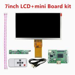 7 pouce 1024 * 600 TFT Mini PC Écran D'affichage Matrix Moniteur LCD 50pinsL Petit Panneau De Commande De Pilote HDMI Entrée pour framboise pi ? partir de fabricateur