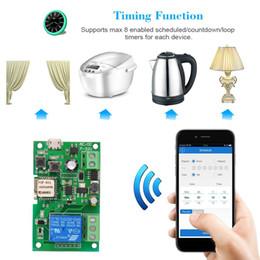 Interruttore remoto senza fili online-Sonoff Smart Wifi Switch Controller Interruttore luce elettrica Relè di controllo remoto senza fili Modem di automazione domestica APP per Android / iOS per Alexa