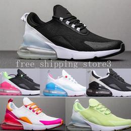 Nike Air Max 270 Airmax 270 air 270 Scarpe da corsa Cuscino Sneaker Designer Scarpe Allenatore Blakc White Iron Sprite Uomo Generale Per uomo Donna
