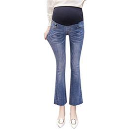 Vêtements de maternité Vêtements de grossesse Femme Enceinte Maternité Skinny Flare Pantalon Pantalon pantalon de maternité ropa embarazada N28 ? partir de fabricateur