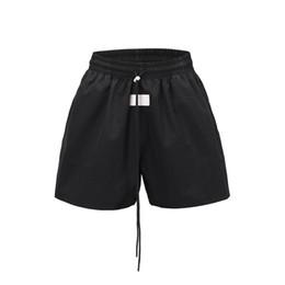 Argentina 2019 Summer Long Cord Cordones Ligeros Shorts Hip Hop Loose Fit Shorts Streetwear SH19062701 supplier lightweights track Suministro